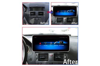"10.25"" Luxury Wide Screen Android 9.0 For Mercedes Benz W204 C Class 2008-2010 - 2008 / Right Hand Drive"