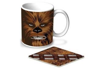 Star Wars Coffee Mug and Coast Pack Chewbacca