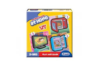 My First Puzzle at Home (a set of three) Play and Learn Frank