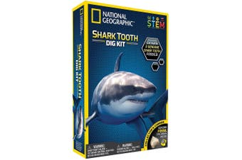 Shark Tooth Dig Kit National Geographic