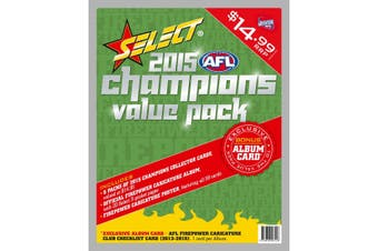 AFL Select Champions 2015 Value Pack