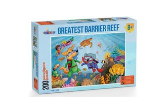 Funbox Greatest Barrier Reef Puzzle 200 Pieces