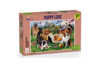 Funbox Puppy Love Puzzle 200 Pieces