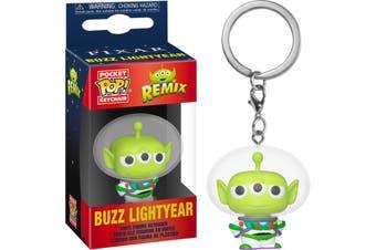 POP Pocket Keychain Pixar Alien Remix - Buzz Lightyear