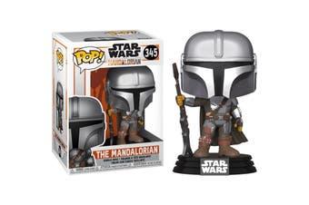 POP Star Wars The Mandalorian - Mandalorian Metallic