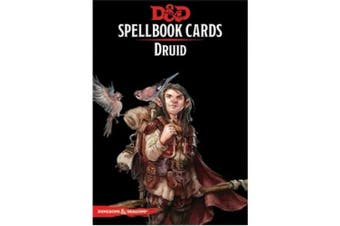 D&D Spellbook Cards Druid Revised 2018 Edition