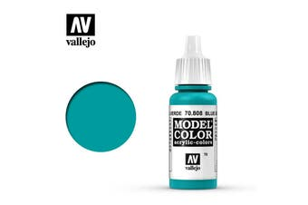 Vallejo Model Color Paint 17mL Blue Green 70.808