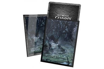 Ultimate Guard Lands Edition 2 100 Standard Size Sleeves - Swamp