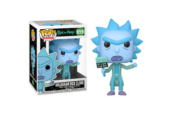 POP Rick and Morty Hologram Rick Clone