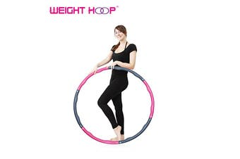 Weight Hoop ® Fitness Hula Hoop - Massage Style-Massage 1.8kg