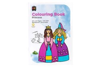 Colouring Book Princess