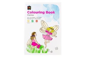 Colouring Book Fairies