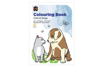 Colouring Book Cats & Dogs