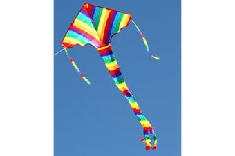 Ocean Breeze Rainbow Delta Kite