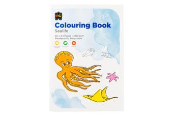 Colouring Book Sea Life