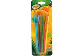 Crayola Paint Brush 5 Pack