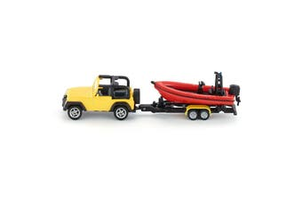 Siku S16 Jeep With Boat