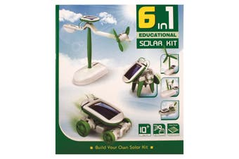 Build Your Own Solar Kit 6 In 1