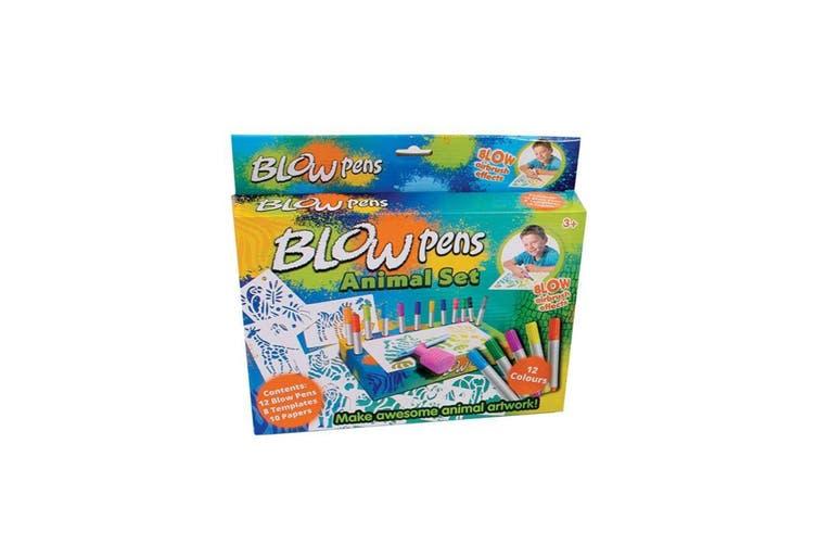 Blow Pens Airbrush Art Set Assorted - Randomly Selected
