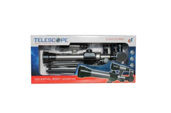 Telescope On Tripod Base