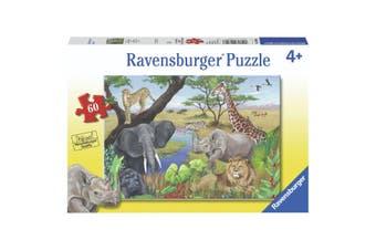 Ravensburger Puzzle 60 Piece Safari Animals