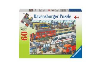 Ravensburger Puzzle 60 Piece Railway Station