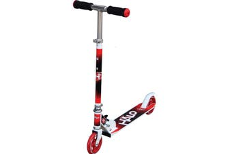 Halo Supreme Inline Scooter Red