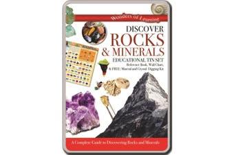 Discover Rocks & Minerals Tin Set