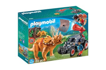 Playmobil Quad Buggy & Triceratops