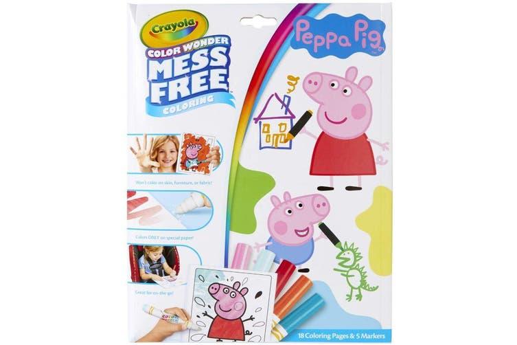 Crayola Colour Wonder Peppa Pig