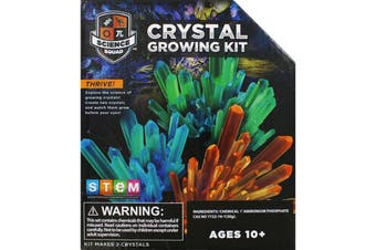 Science Squad Crystal Growing Kit