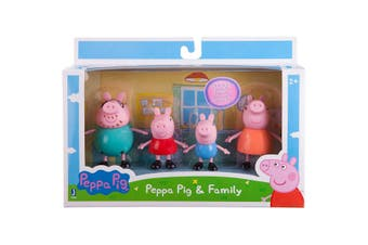 Peppa Pig Family & Friends 4 Pack Assorted - Randomly Selected