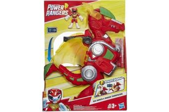Power Rangers Heroes Red Ranger & Dragon Thunderzord
