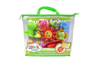 Spark Bath Toy Play Set 19 Piece