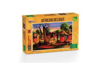 Funbox Puzzle 1000 Piece Afircan Delight