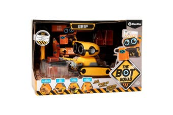 Wow Wee Botsquad Grip The Gripping Remote Control Interactive Robot