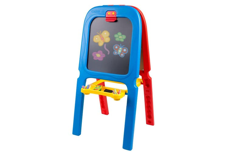 Crayola 3 In 1 Double Sided Easel & Accessories