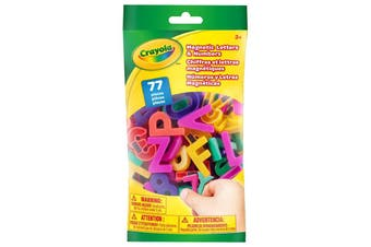 Crayola 77pcs Magnetic Letters & Numbers