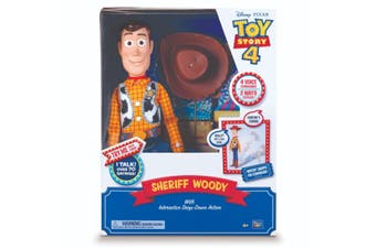 Toy Story 4 Feature Talking Sheriff Woody