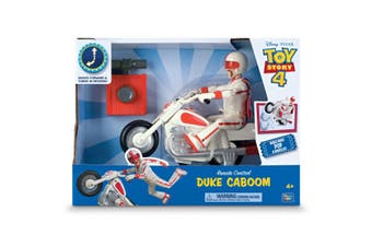 Toy Story 4 Radio Control Duke Caboom With Bike