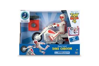 Toy Story 4 Radio Control Duke Caboom With Bike