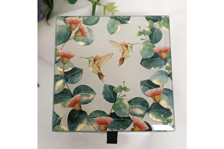 Gumtree Glass Trinket Box