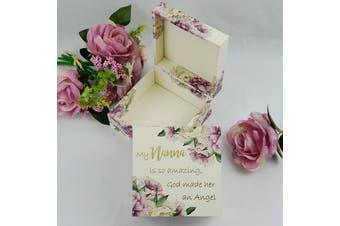 Nanna Garden of Love Memorial Trinket Box
