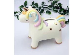 Unicorn Ceramic Money Box