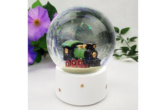 Train Waterball Snow Globe