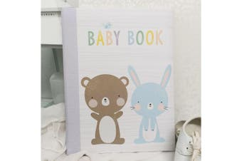 Baby 5 Year Record Book - Lavender