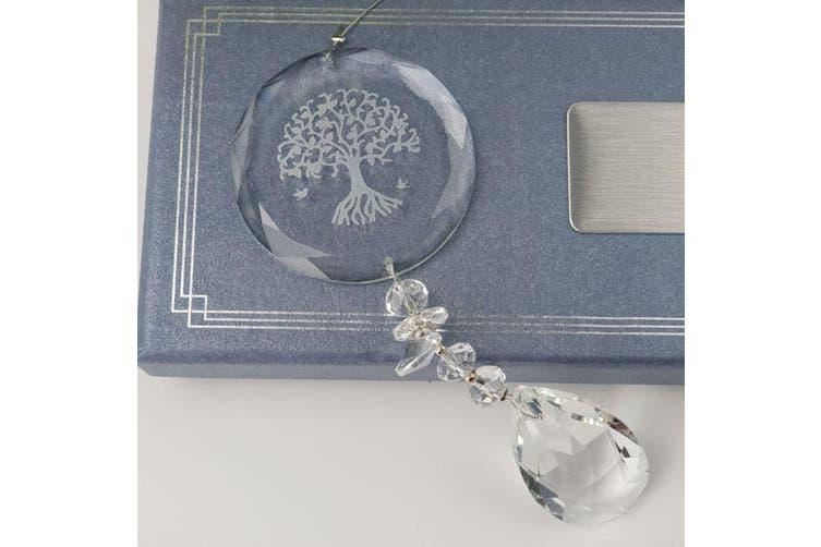 Nana Glass Tree of Life Suncatcher