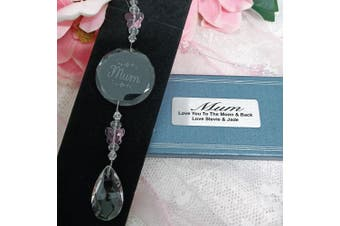 Personalised Mum Glass Suncatcher