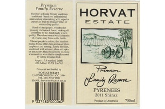 Premium Family Reserve - Victoria Shiraz - 2011 (6 Bottle Case) 2011