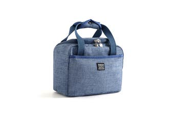 5.71L Insulation Bags Picnic Outdoor Office Lunch Insulation Bags BLUE